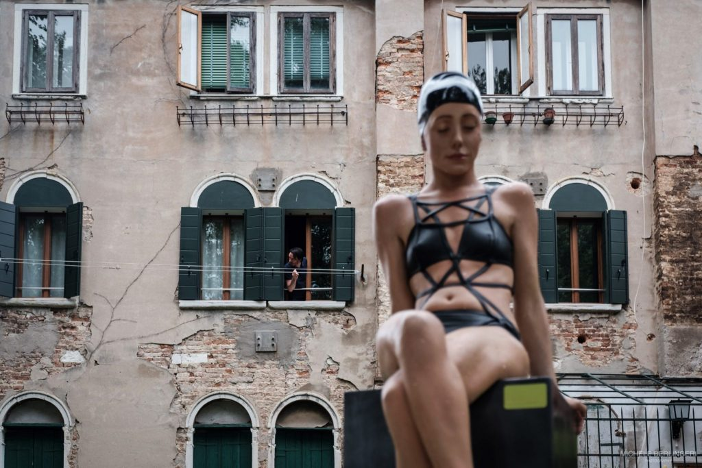 Carole Feuerman - Giardini della Marinaressa, Biennale di Venezia 2017